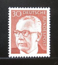 Poštovní známka Nìmecko 1971 Prezident Heinemann Mi# 638