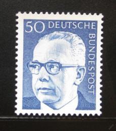 Poštovní známka Nìmecko 1971 Prezident Heinemann Mi# 640