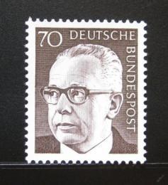 Poštovní známka Nìmecko 1971 Prezident Heinemann Mi# 641