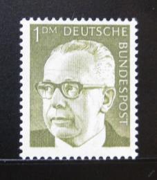 Poštovní známka Nìmecko 1970 Prezident Heinemann Mi# 644