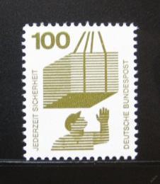 Poštovní známka Nìmecko 1972 Prevence pøed nehodami Mi# 702
