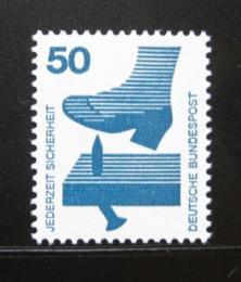 Poštovní známka Nìmecko 1973 Prevence pøed nehodami Mi# 700
