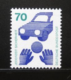 Poštovní známka Nìmecko 1973 Prevence pøed nehodami Mi# 773