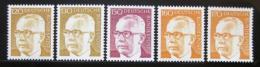 Poštovní známky Nìmecko 1972 Prezident Heinemann roèník