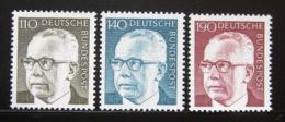 Poštovní známky Nìmecko 1973 Prezident Heinemann roèník