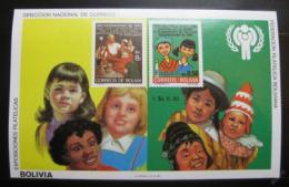 Poštovní známka Bolívie 1980 Mezinárodní rok dìtí Mi# Block 97