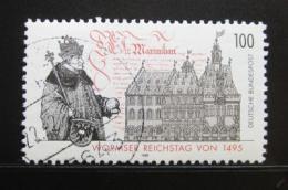 Poštovní známka Nìmecko 1994 Wormský snìm Mi# 1773