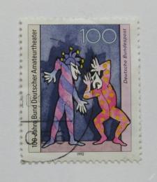 Poštovní známka Nìmecko 1992 Amatérská divadla Mi# 1626