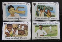 Poštovní známky Dominika 1979 Mezinárodní rok dìtí Mi# 625-29