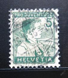 Poštovní známka Švýcarsko 1915 Chlapec Mi# 128 Kat 12€