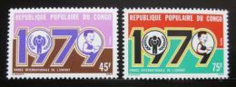 Poštovní známky Kongo 1979 Mezinárodní rok dìtí Mi# 676-77