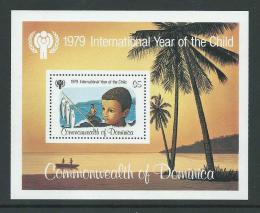 Poštovní známka Dominika 1979 Mezinárodní rok dìtí Mi# Block 55