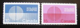 Poštovní známky Kanada 1970 OSN, 25. výroèí Mi# 456-57
