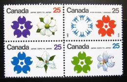 Poštovní známky Kanada 1970 Svìtová výstava EXPO Mi# 451-54