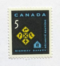 Poštovní známka Kanada 1966 Dopravní znaèení Mi# 391