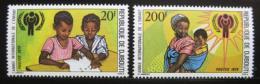 Poštovní známky Džibutsko 1979 Mezinárodní rok dìtí Mi# 241-42