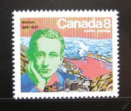 Poštovní známka Kanada 1974 Guglielmo Marconi Mi# 580