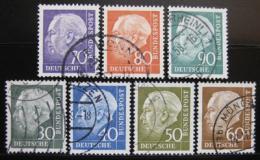 Poštovní známky Nìmecko 1954 Prezident Heuss Mi# 187-94