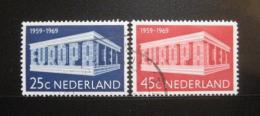 Poštovní známky Nizozemí 1969 Evropa CEPT Mi# 920-21