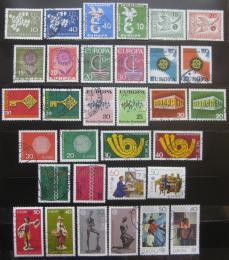 Poštovní známky Nìmecko 1958-79 Evropa CEPT 16 kompletních setù