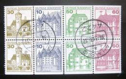 Poštovní známky Nìmecko 1979 Hrady, ze sešitku SC# 1231d