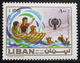Poštovní známka Libanon 1981 Mezinárodní rok dìtí Mi# 1299