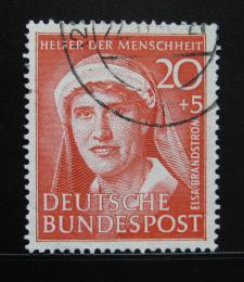 Poštovní známka Nìmecko 1951 Elsa Brändström Mi# 145