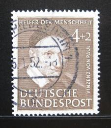 Poštovní známka Nìmecko 1951 Vinzenz von Paul Mi# 143