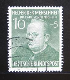 Poštovní známka Nìmecko 1952 Dr. Carl Sonnenschein Mi# 157