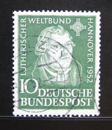 Poštovní známka Nìmecko 1952 Martin Luther Mi# 149
