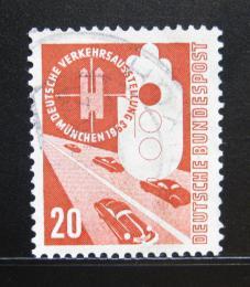 Poštovní známka Nìmecko 1953 Automobily Mi# 169