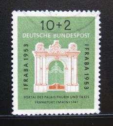 Poštovní známka Nìmecko 1953 Palác Thurn a Taxis Mi# 171 Kat 28€