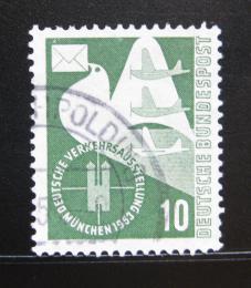 Poštovní známka Nìmecko 1953 Poštovní holub Mi# 168