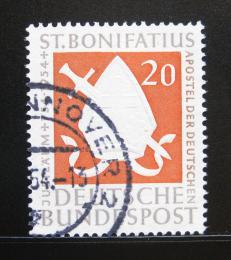Poštovní známka Nìmecko 1954 Svatý Bonifác Mi# 199