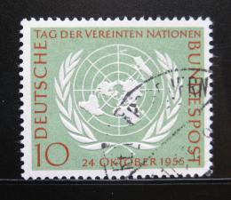 Poštovní známka Nìmecko 1955 OSN Mi# 221