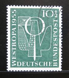 Poštovní známka Nìmecko 1955 Výstava WESTROPA Mi# 217