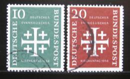 Poštovní známky Nìmecko 1956 Nìmeètí protestanti Mi# 235-36