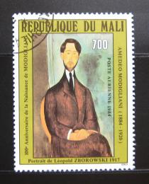 Poštovní známka Mali 1984 Umìní, Amedeo Modigliani Mi# 988
