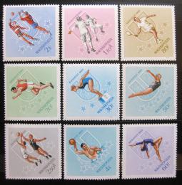 Poštovní známky Maïarsko 1965 Univerziáda Mi# 2153-61