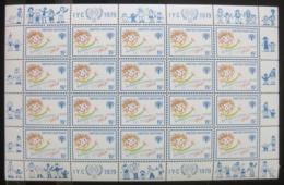 Poštovní známky OSN New York 1979 Mezinárodní rok dìtí Mi# 334