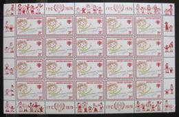 Poštovní známky OSN New York 1979 Mezinárodní rok dìtí Mi# 335
