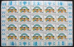 Poštovní známky OSN Ženeva 1979 Mezinárodní rok dìtí Mi# 83