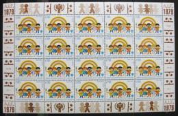Poštovní známky OSN Ženeva 1979 Mezinárodní rok dìtí Mi# 84
