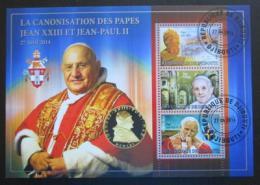Poštovní známka Džibutsko 2014 Kanonizace papežù - zvìtšit obrázek