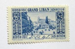 Poštovní známka Libanon 1925 Námìstí v Bejrútu Mi# 70