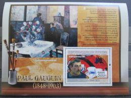 Poštovní známka Guinea 2009 Umìní, Paul Gauguin