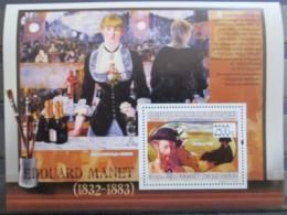 Poštovní známka Guinea 2009 Umìní, Edouard Manet