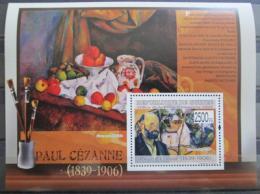 Poštovní známka Guinea 2009 Umìní, Paul Cézanne