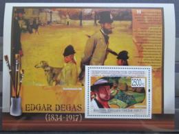 Poštovní známka Guinea 2009 Umìní, Edgar Degas