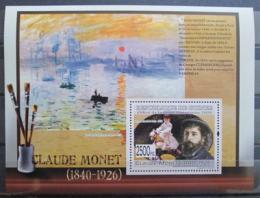 Poštovní známka Guinea 2009 Umìní, Claude Monet